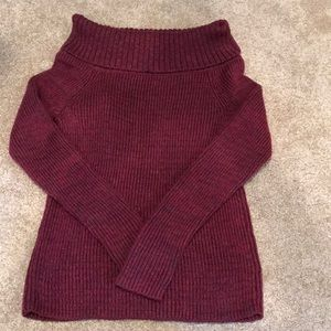 Hollister off the shoulder sweater